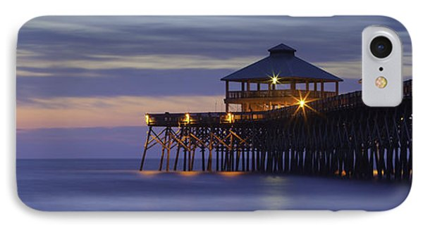 Folly Beach Pier IPhone Case
