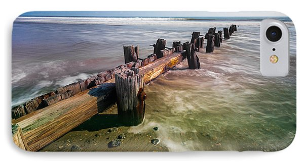 Folly Beach IPhone Case by RC Pics