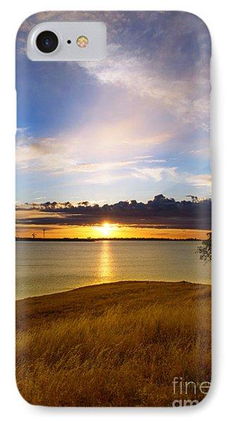 Folsom Lake Sunset IPhone Case