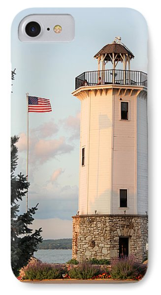 Fond Du Lac Lighthouse  IPhone Case by George Jones