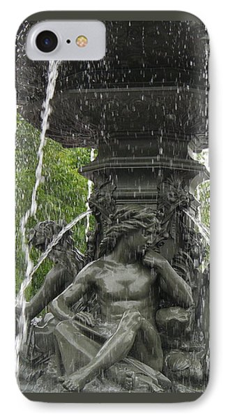 Fontaine De Tourny IPhone Case by Lingfai Leung