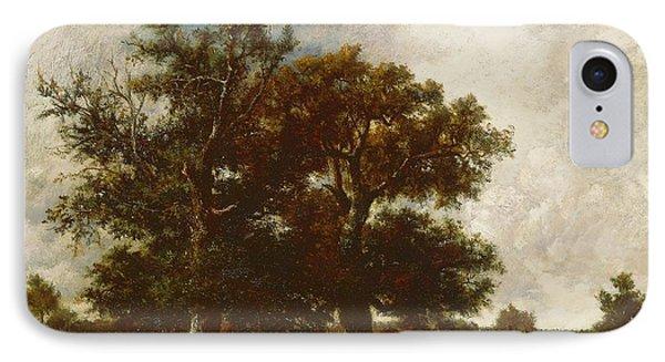 Fontainebleau Oak Phone Case by Jules Dupre