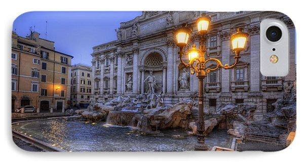 Fontana Di Trevi 3.0 IPhone Case by Yhun Suarez