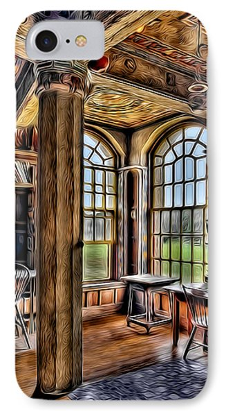 Fonthill Castle Office Phone Case by Susan Candelario