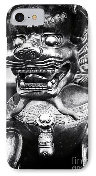 Foo Dog Phone Case by John Rizzuto