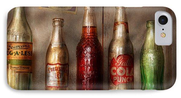 Food - Beverage - Favorite Soda Phone Case by Mike Savad