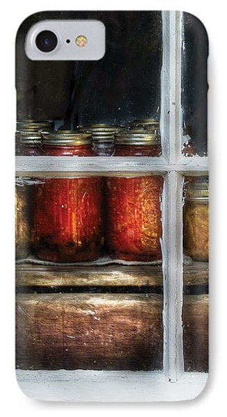 Food - Country Preserves  Phone Case by Mike Savad