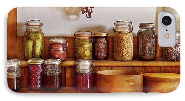 Food - I Love Preserving Things Phone Case by Mike Savad