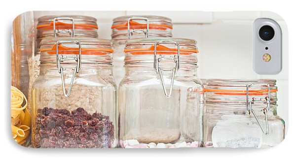 Food Jars Phone Case by Tom Gowanlock