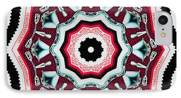 Food Mixer Mandala Phone Case by Andy Prendy