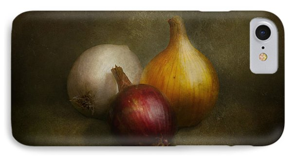 Food - Onions - Onions  IPhone 7 Case by Mike Savad