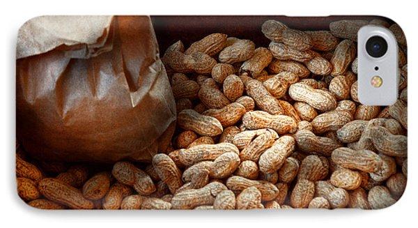 Food - Peanuts  Phone Case by Mike Savad