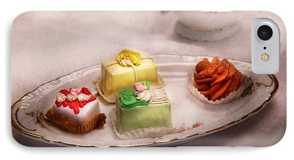 Food - Sweet - Cake - Grandma's Treats  IPhone Case by Mike Savad