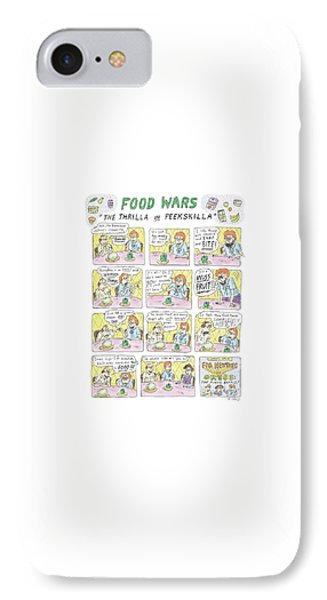 Food Wars: Thrilla In Peekskilla IPhone Case