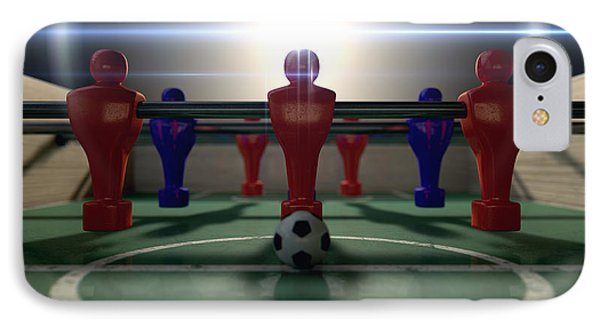 Foosball Table IPhone Case