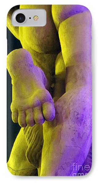 IPhone Case featuring the photograph Foot My Friend by Yury Bashkin