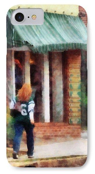 Football Fan Phone Case by Susan Savad