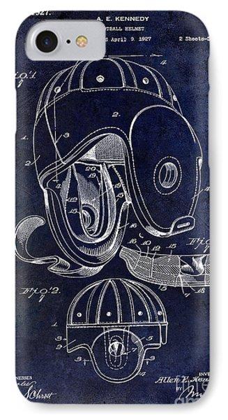 1927 Football Helmet Patent IPhone Case