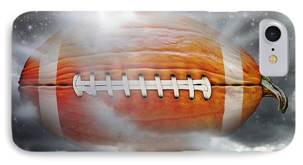 Football Pumpkin IPhone Case