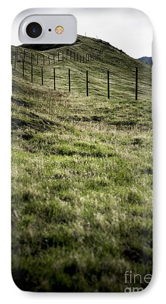 Foothills Of The Tehachipis IPhone Case by Rich Collins