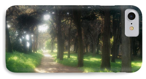 Footpath Passing Through A Park, The IPhone Case