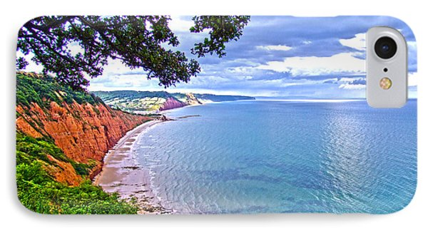 Footpath To Sidmouth IPhone Case by Andrew Middleton