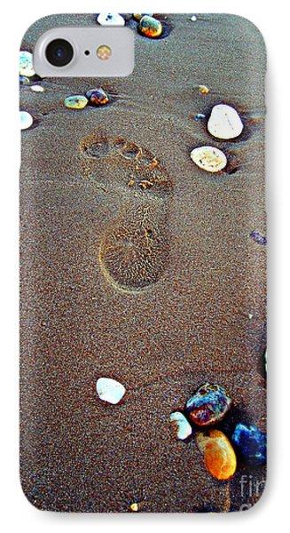 Footprint IPhone Case by Nina Ficur Feenan