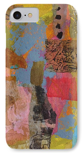 IPhone Case featuring the mixed media Footprints by Catherine Redmayne