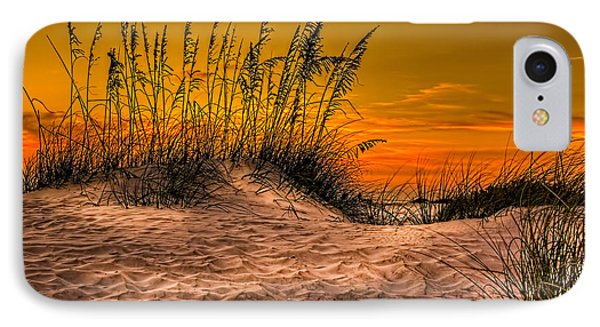 Footprints In The Sand Phone Case by Marvin Spates