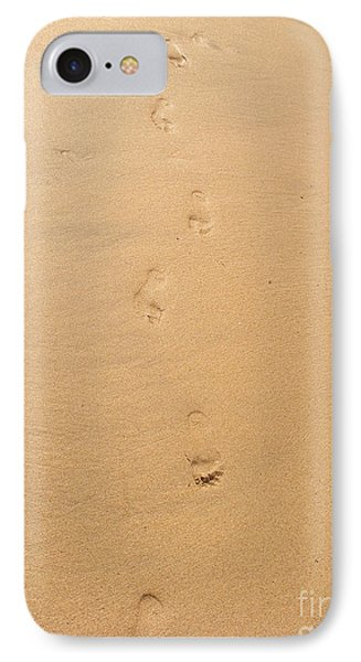 Footprints In The Sand Phone Case by Pixel  Chimp