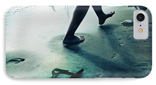 Footprints IPhone Case by James David Phenicie