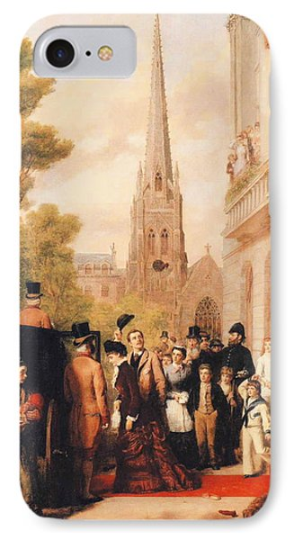 For Better For Worse IPhone Case by William Powell Frith