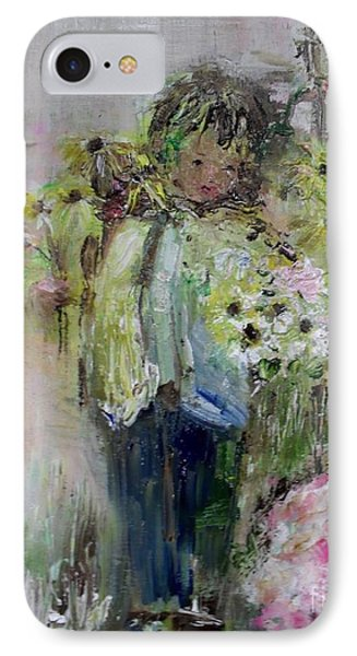 IPhone Case featuring the painting For My Mother by Laurie L