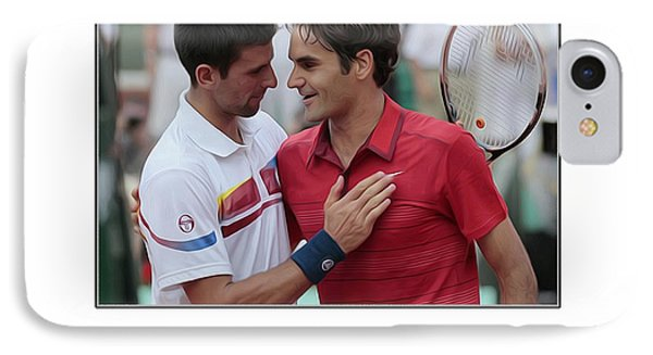 For My Ymca Roger And Novak IPhone Case