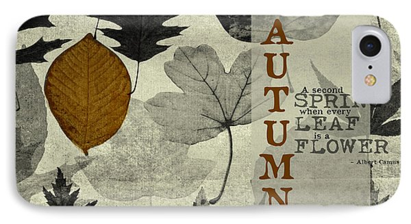 For The Love Of Autumnn Phone Case by Bonnie Bruno