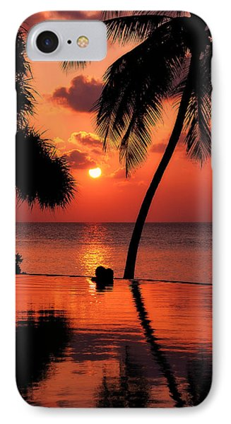For You. Dream Coming True I. Maldives Phone Case by Jenny Rainbow