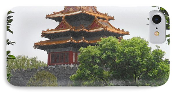 Forbidden City Building 3 Phone Case by Kay Gilley