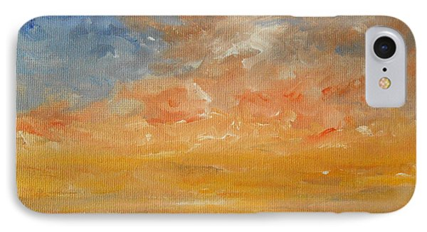 IPhone Case featuring the painting Force Of Nature 2 by Jane  See