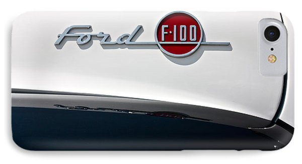 Ford F-100 IPhone Case by Linda Bianic