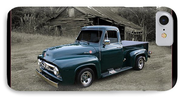 IPhone Case featuring the photograph Ford F100 by Keith Hawley