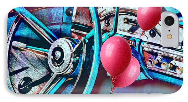 Ford Fairlane 500 Dashboard- Warhol-esque IPhone Case