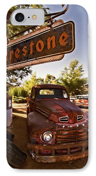 Ford Fever IPhone Case by Priscilla Burgers