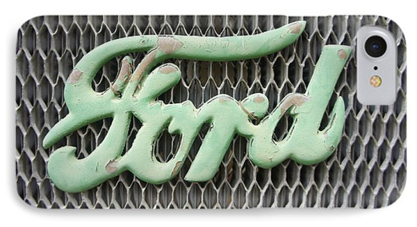 Ford Grille IPhone Case by Laurie Perry