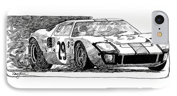 Ford Gt - 40 IPhone Case