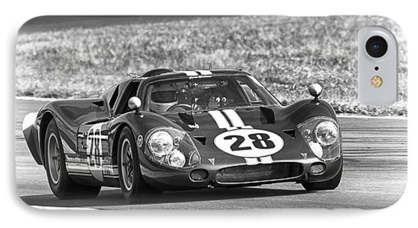 Ford Gt40 Black White IPhone Case
