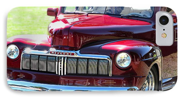 Ford Mercury Eight IPhone Case by Rory Sagner