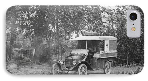 Ford Model T Ambulance IPhone Case