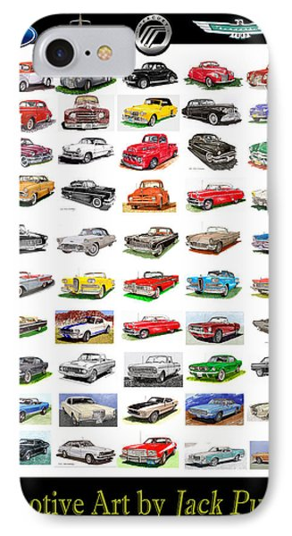 Four Decades Of Fords Poster IPhone Case
