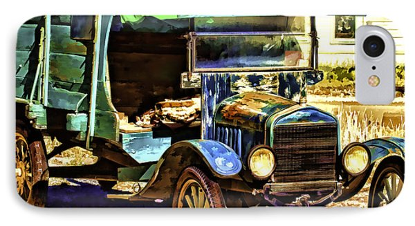IPhone Case featuring the painting Ford by Muhie Kanawati