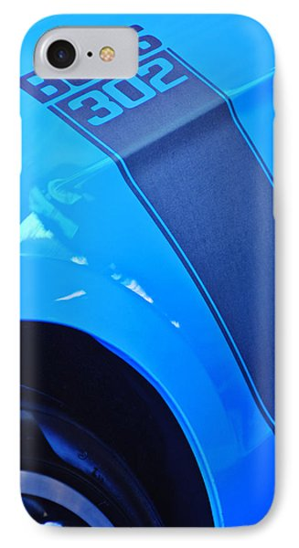 Ford Mustang Boss 302 Emblem Phone Case by Jill Reger